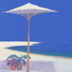 Yacht Passing the Terrace, 1999 by John Miller