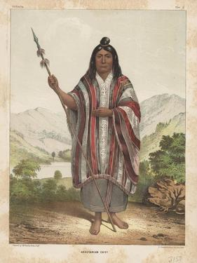 Araucanian Chief, 1855 by John Mix Stanley