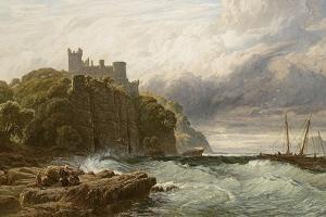 Culzean Castle, Ayrshire, 1877 by John Mogford