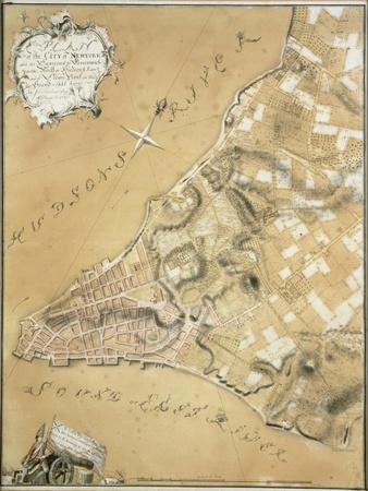 Early Survey of the City of New York and its Environs to Greenwich, 1766
