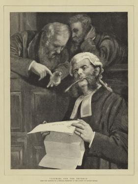 Counsel for the Defence by John Morgan