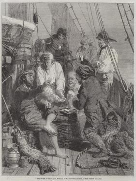 The Storm at Sea by John Morgan