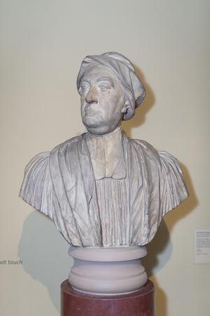 Bust of Canon Edward Finch, 1728