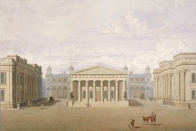 Trafalgar Square, Westminster, London, 1828