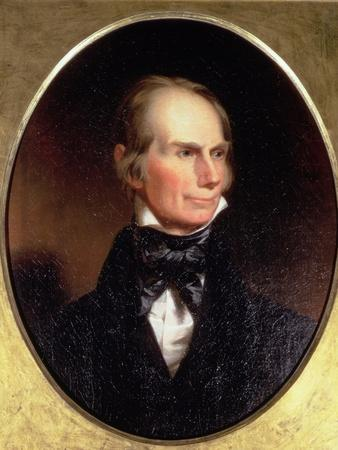 Portrait of Henry Clay (1777-1852) Painted for His Election Campaign, 1842