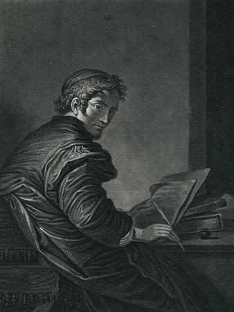 Salvator Rosa Engraving
