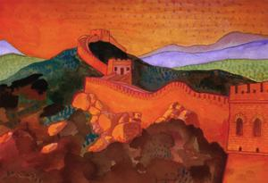 Great Wall of China by John Newcomb