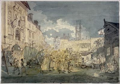 Bartholomew Fair, West Smithfield, City of London, 1813