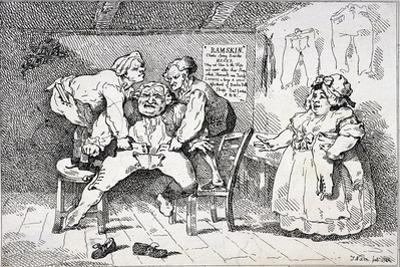 New Invented Elastic Breeches, 1784