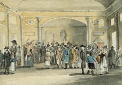 The Pump Room, Bath, 1796