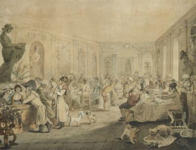 Very's Restaurant in the Palais Royal, Paris, 1803