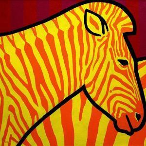Cadmium Zebra by John Nolan