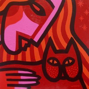 Cat Woman by John Nolan