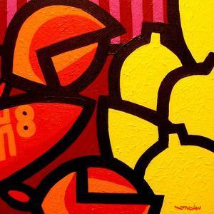 Lobster and 5 Lemons by John Nolan