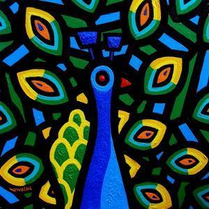 Peacock 2 by John Nolan