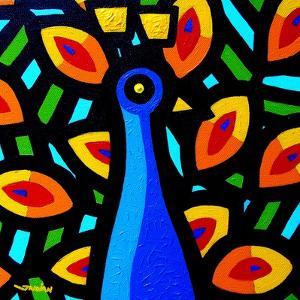Peacock 3 by John Nolan