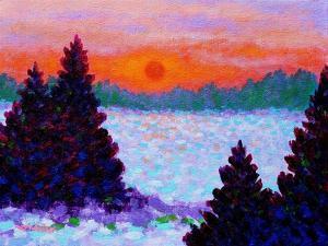 Snowscape by John Nolan