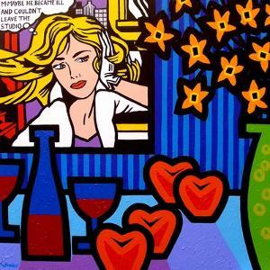 Still Life with Lichtenstein 2 by John Nolan