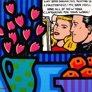 Still Life with Lichtenstein by John Nolan