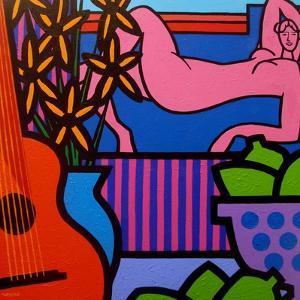Still Life with Matisse 1 by John Nolan