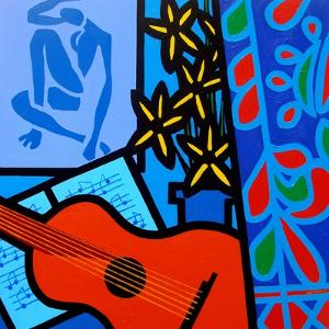 Still Life with Matisse 2 by John Nolan