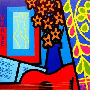 Still Life with Matisses Verve by John Nolan