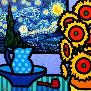 Still Life with Starry Night by John Nolan