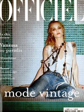 L'Officiel, 2004 - Vanessa Paradis by John Nollet