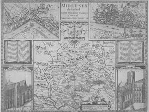 Maps of London, 1610 by John Norden
