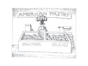 American Pastry - Cartoon by John O'brien