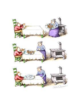 Gingerbread men - Cartoon by John O'brien