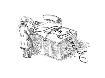John Hancock - Cartoon