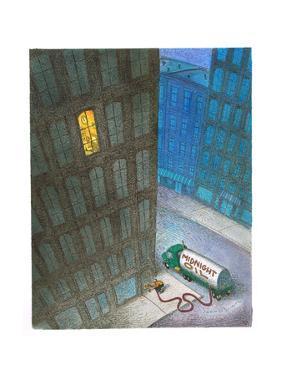 Midnight Oil - Cartoon by John O'brien