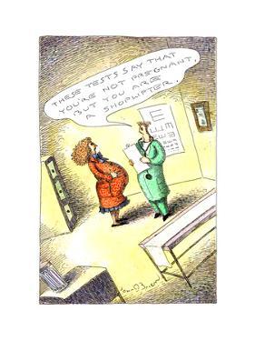 Shoplifter - Cartoon by John O'brien