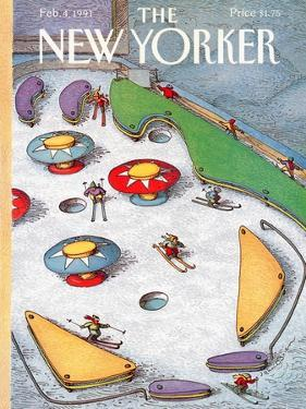 The New Yorker Cover - February 4, 1991 by John O'brien