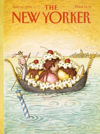 The New Yorker Cover - July 16, 1990 by John O'brien