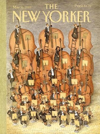 The New Yorker Cover - March 6, 1989