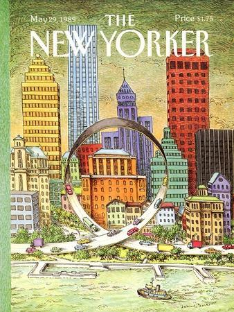 The New Yorker Cover - May 29, 1989