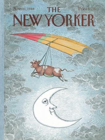 The New Yorker Cover - November 21, 1988
