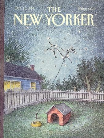 The New Yorker Cover - October 21, 1991