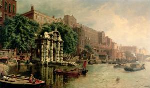 Old York Gate, Adelphi by John O'connor