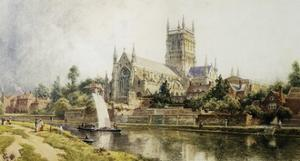 Worcester Cathedral by John O'connor