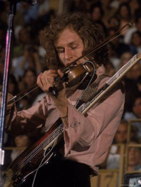 """Electric Violinist Rick Grech from the Group """"Blind Faith."""" by John Olson"""