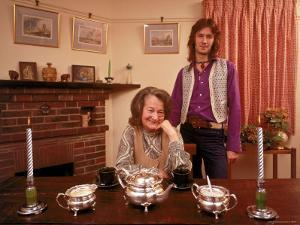 Eric Clapton with His Grandmother Rose Clapp by John Olson