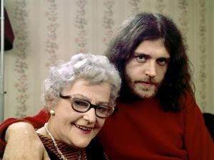 Joe Cocker with His Mother Marjorie. 1970 by John Olson