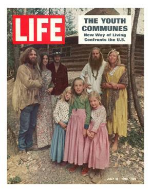 The Youth Communes, New way of Living Confronts the U.S., July 18, 1969 by John Olson