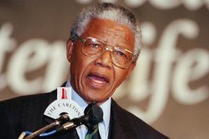 Nelson Mandela by John Parkin