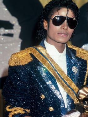 Michael Jackson at Grammy Awards by John Paschal
