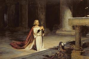 The Vigil, 1884 by John Pettie