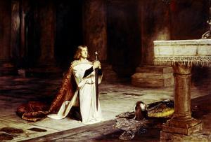 The Vigil by John Pettie